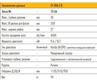 CEDIMA МАШИНА ДЛЯ СНЯТИЯ ФАСОК 206.2 B